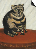 Le Chat Tigre Art by Henri Rousseau