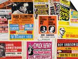 Collection of 1960's Odeon Concert Hall Bills, Including the Beach Boys, Duke Ellington, Ella… - Sanat
