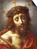 Christ as the Man of Sorrows Plakater af Carlo Dolci