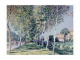 Road to Louveciennes Giclee Print by Alfred Sisley