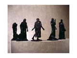 Study for the Burghers of Calais Giclee Print by Auguste Rodin