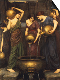 Danaides, 1904 Prints by John William Waterhouse