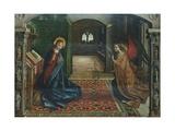 Annunciation, 1485 Giclée-tryk af Pedro Berruguete