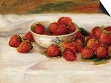 Erdbeeren Kunst von Pierre-Auguste Renoir
