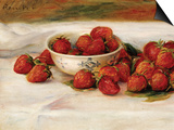 Strawberries Prints by Pierre-Auguste Renoir