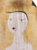 Sealed Woman Art by Paul Klee