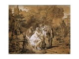 Susanna and Elders Giclee Print by Francois Andre Vincent