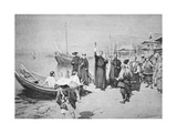 The Landing of St. Francis Xavier at Kagoshima Giclee Print by Walter Frederick Roofe Tyndale