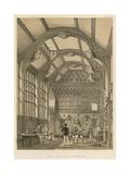 Hall, Adlington, Cheshire Giclee Print by Joseph Nash