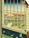 Asakusa Rice Fields During the Festival of the Cock Prints by Ando Hiroshige