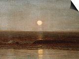 Coastal Sunset Prints by Eugène Boudin