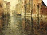 A Venetian Canal Scene Prints by Frits Thaulow