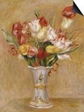 Tulipes Poster by Pierre-Auguste Renoir