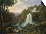 The Falls of Tivoli, 1822 Posters by Jan Brueghel the Elder