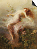 A Nymph Poster by Edouard Bisson