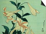 Trumpet Lilies Prints by Hashiguchi Goyo
