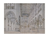 Basilica of St Paul Giclee Print by Hans Holbein the Elder