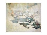 Snowbound, Circa 1889 Giclee Print by John Henry Twachtman