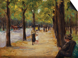 In the Tiergarten, Berlin Posters by Max Liebermann
