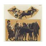 Chariot Scenes from Ancient Greece Giclee Print
