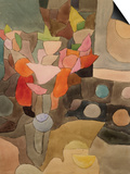 Still Life with Gladioli; Gladiolen Still Leben Print by Paul Klee
