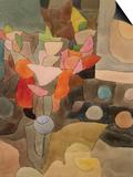 Still Life with Gladioli; Gladiolen Still Leben Posters by Paul Klee