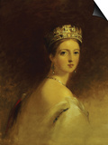 Queen Victoria, 1871 Poster by Thomas Sully