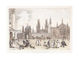 Magdalen College, Oxford, 1809-1811 Giclee Print by Thomas Rowlandson
