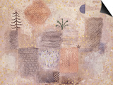 Park with the cool Crescent Posters par Paul Klee