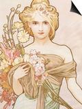 Spring Poster by Alphonse Mucha