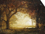Forest Sunrise Art by Albert Bierstadt