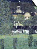 Schloss Kammer Am Attersee II, 1909 Print by Gustav Klimt