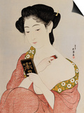 A Woman in Underclothes, 1918 Poster by Hashiguchi Goyo