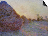 Haystacks Prints by Claude Monet