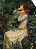 Ophelia Posters by John William Waterhouse