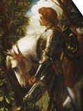 Sir Galahad Print by George Frederick Watts