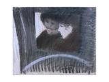 In a Cab Giclee Print by Giuseppe De Nittis
