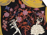 The Flamenco Prints by Georges Barbier