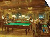 Billiards; Le Billard Posters by Jean Béraud