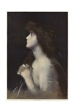 Study of a Woman Giclee Print by Jean-Jacques Henner
