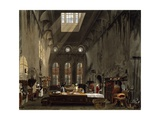 Kitchen, 1816-1819 Giclee Print by William Henry Pyne