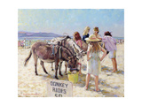 The Donkey Ride Giclee Print by Paul Gribble