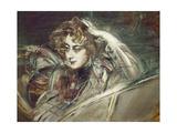Portrait of Madame X. Melancholia Giclee Print by Giovanni Boldini