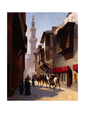 A Street in Cairo Giclee Print by Jean Leon Gerome