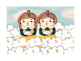 Twins, 2013 Photographic Print by Yoyo Zhao