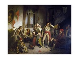 Last Prize in Boat Race, 1858 Giclee Print by Antonio Rotta