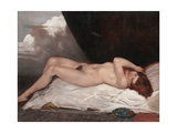 Nude with a Cup of Cherries, 1933 Giclee Print by Emile Bernard