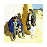 Noon Shadows Giclee Print by Walter Ufer