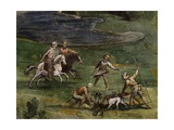 Hunting Scene Giclee Print by Antonio Tempesta