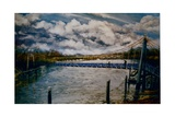 Teddington Lock, 2006 Photographic Print by Lee Campbell